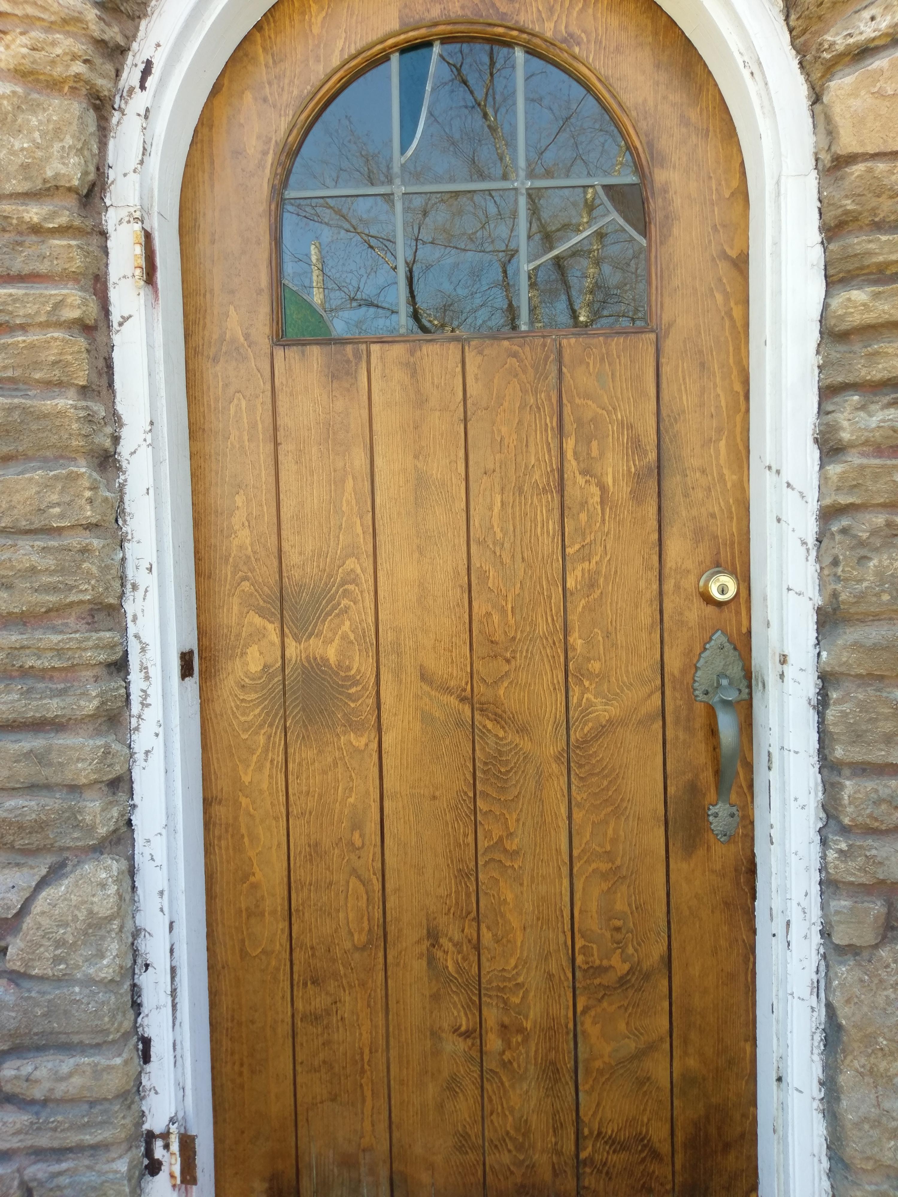 Repairing French Doors : Repairing old doors a restored pine door